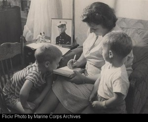Letters from family and friends helped build the morale of soldiers overseas.