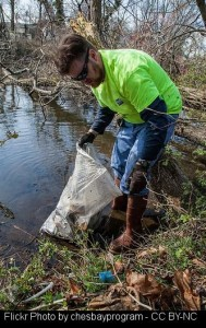 April 2016 Earth Day river cleanup